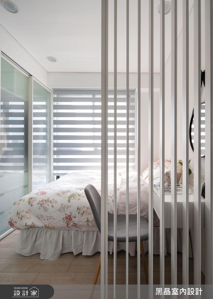 18坪新成屋(5年以下)_北歐風臥室案例圖片_黑晶室內設計_黑晶_25之13
