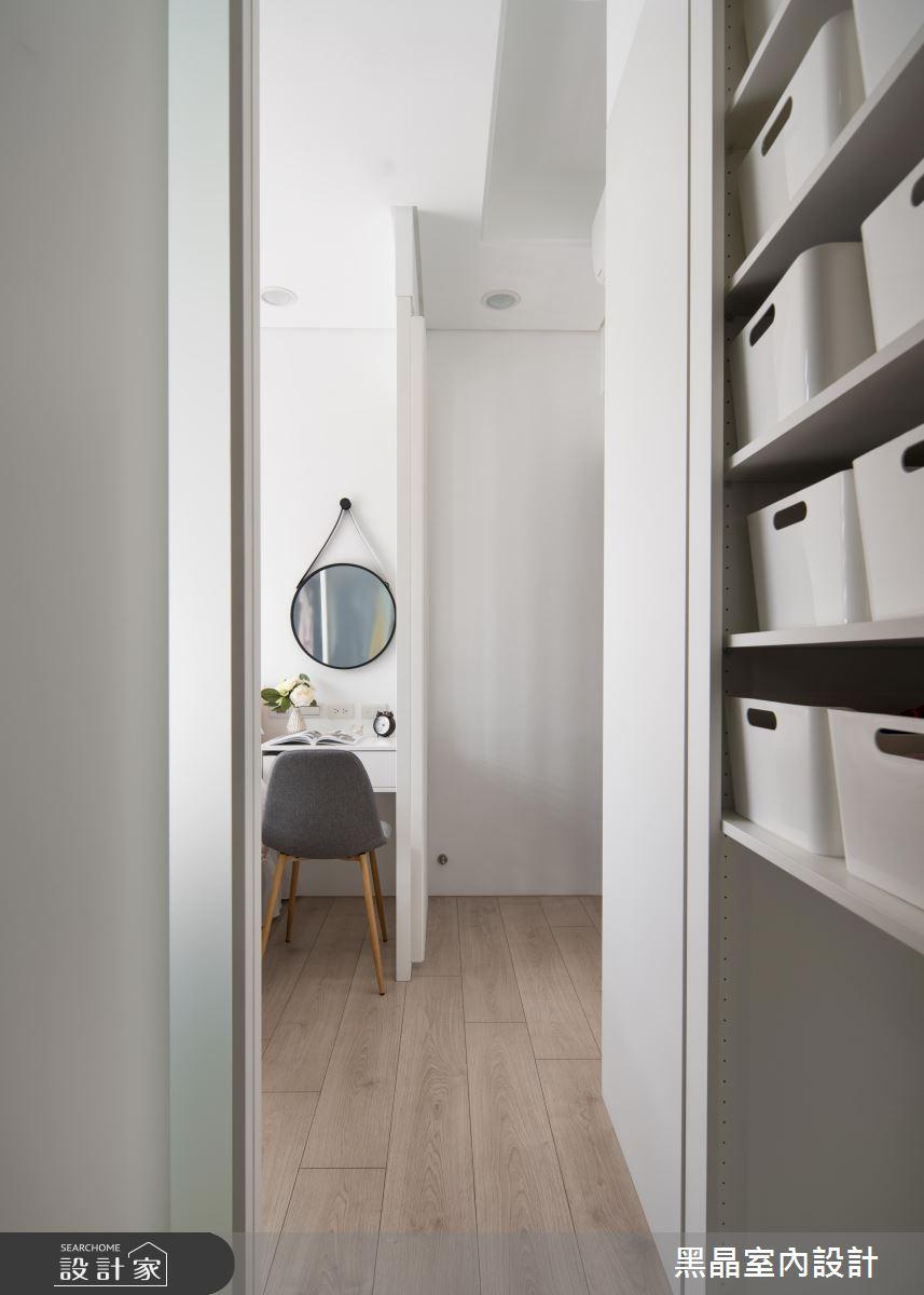 18坪新成屋(5年以下)_北歐風臥室案例圖片_黑晶室內設計_黑晶_25之15