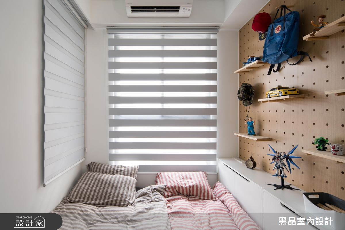 18坪新成屋(5年以下)_北歐風兒童房兒童房多功能室案例圖片_黑晶室內設計_黑晶_25之16