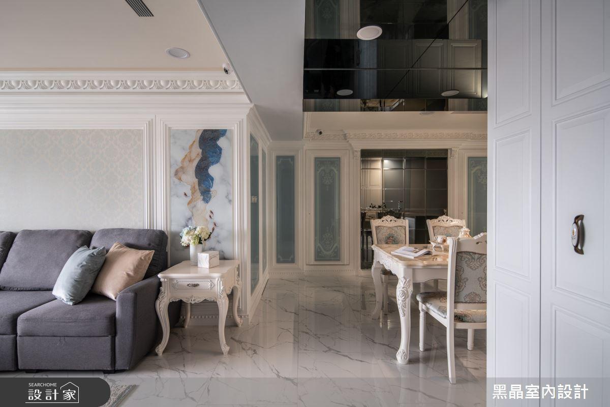 40坪老屋(31~40年)_新古典餐廳案例圖片_黑晶室內設計_黑晶_38之4