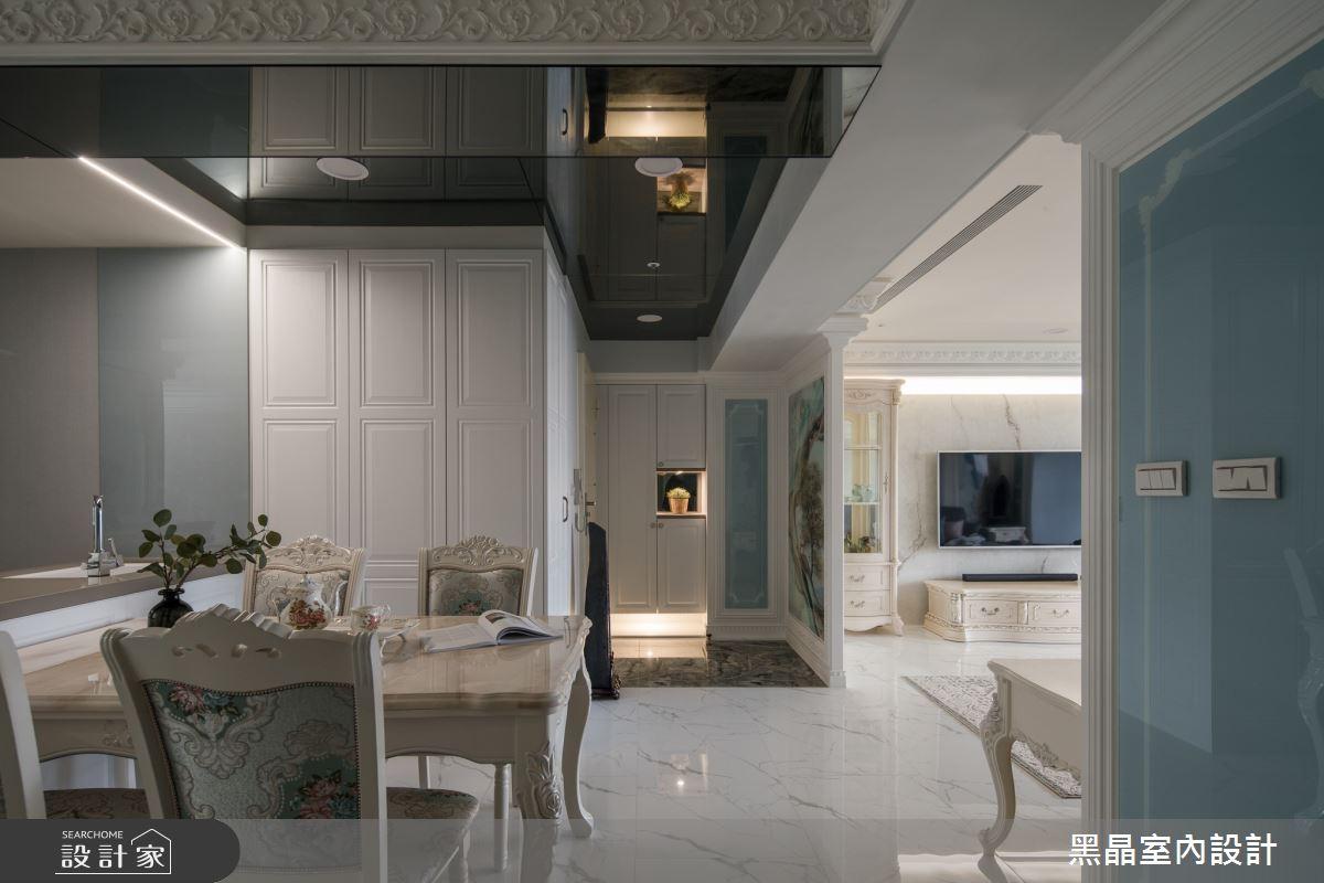 40坪老屋(31~40年)_新古典餐廳案例圖片_黑晶室內設計_黑晶_38之5