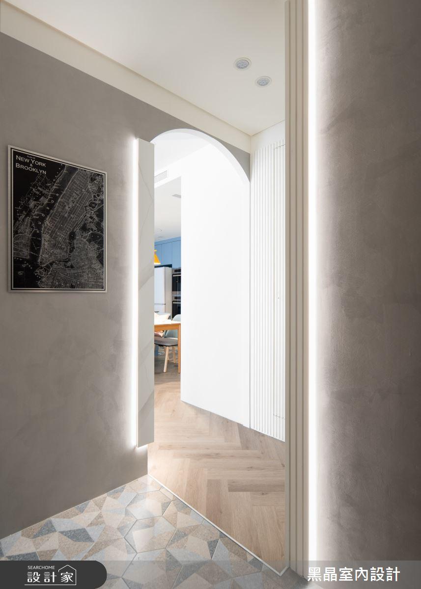 26坪中古屋(5~15年)_北歐風案例圖片_黑晶室內設計_黑晶_41之1