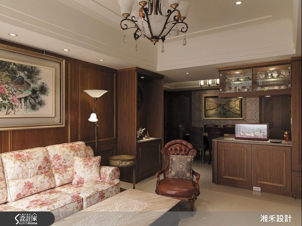 40坪新成屋(5年以下)_新古典案例圖片_湘禾國際設計_湘禾_02之2