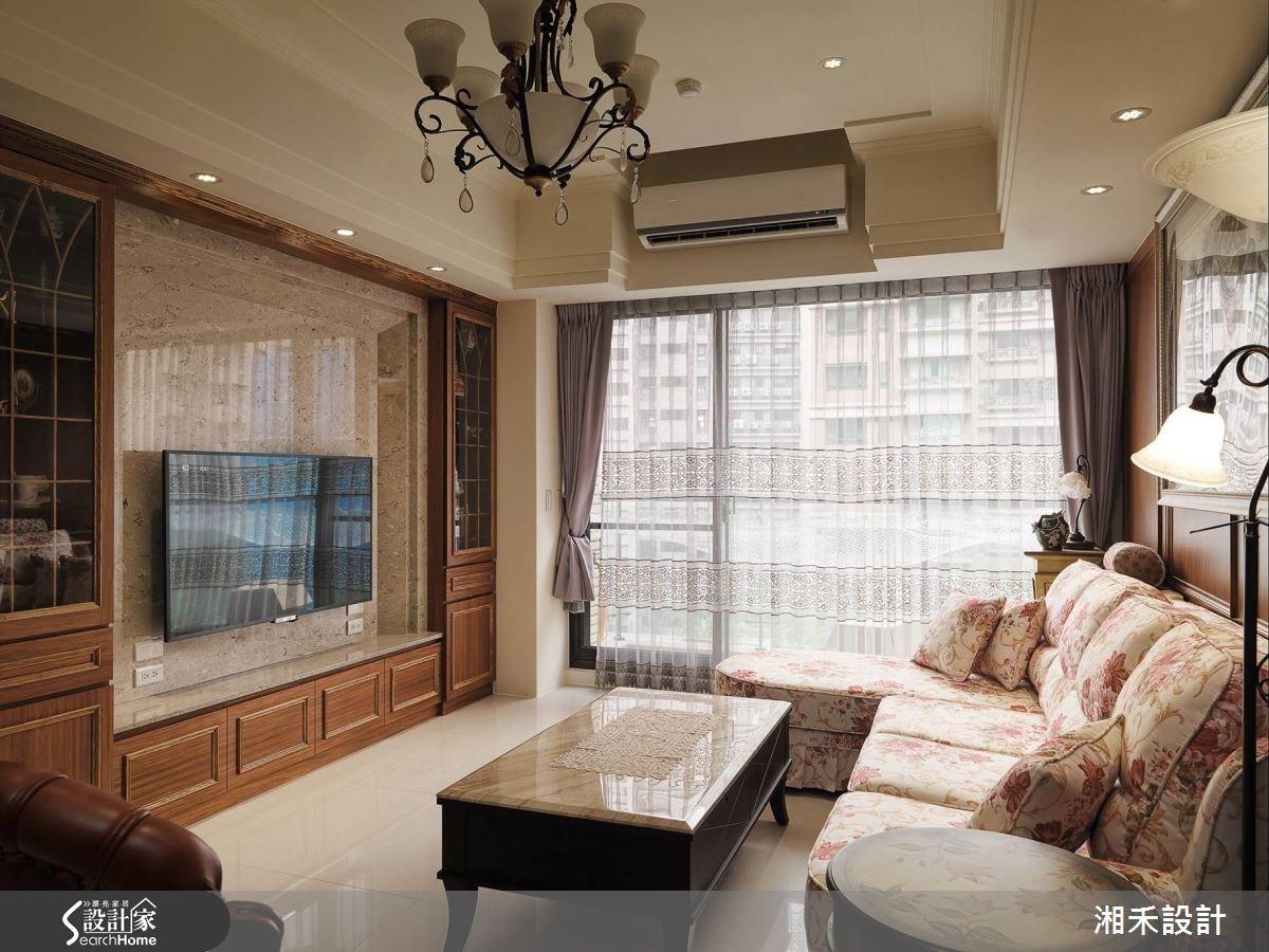 40坪新成屋(5年以下)_新古典案例圖片_湘禾國際設計_湘禾_02之3