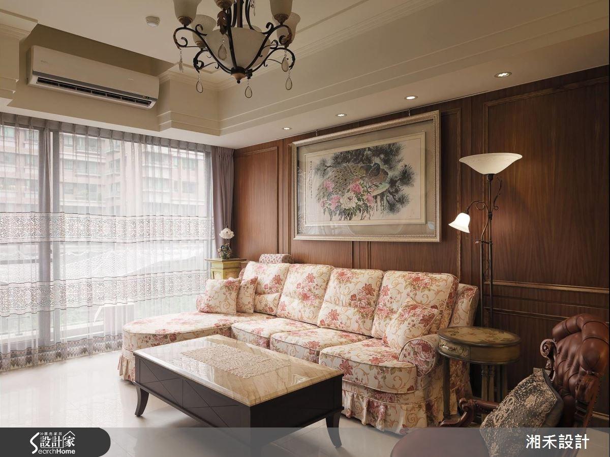 40坪新成屋(5年以下)_新古典案例圖片_湘禾國際設計_湘禾_02之4