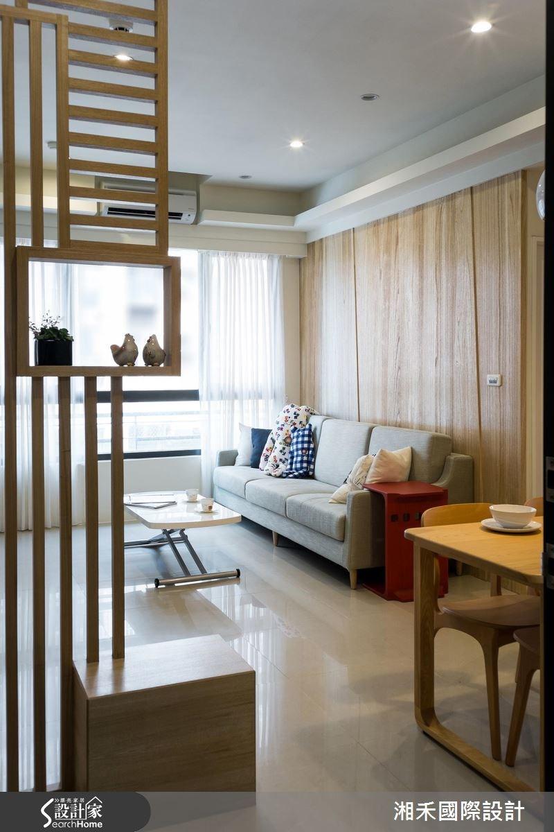 22坪新成屋(5年以下)_休閒風客廳案例圖片_湘禾國際設計_湘禾_08之2