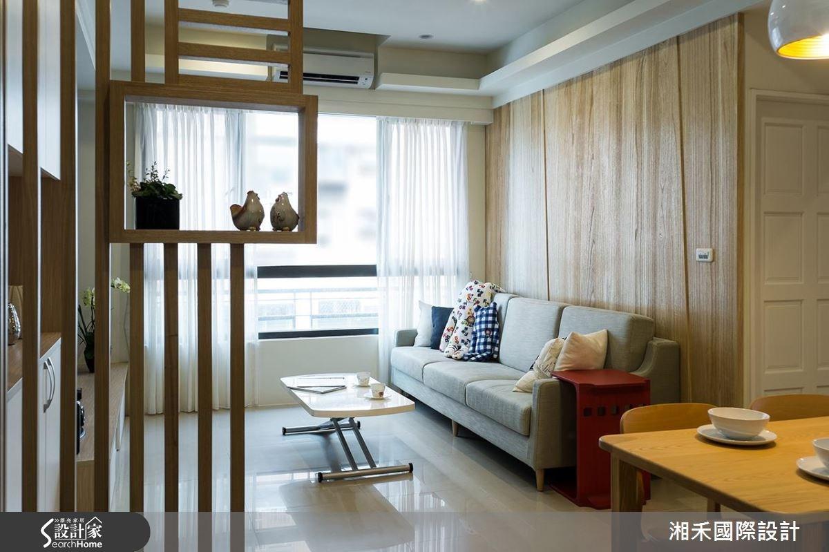 22坪新成屋(5年以下)_休閒風客廳案例圖片_湘禾國際設計_湘禾_08之3