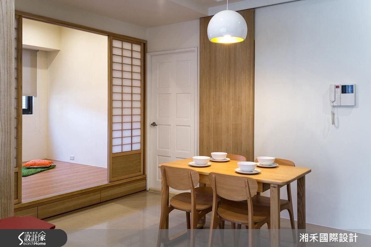 22坪新成屋(5年以下)_休閒風餐廳和室案例圖片_湘禾國際設計_湘禾_08之15