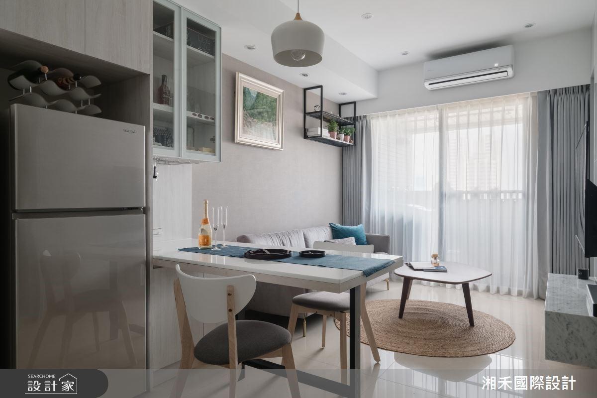 20坪新成屋(5年以下)_現代風餐廳案例圖片_湘禾國際設計_湘禾_11之3