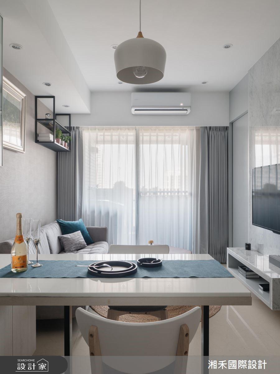 20坪新成屋(5年以下)_現代風餐廳案例圖片_湘禾國際設計_湘禾_11之4