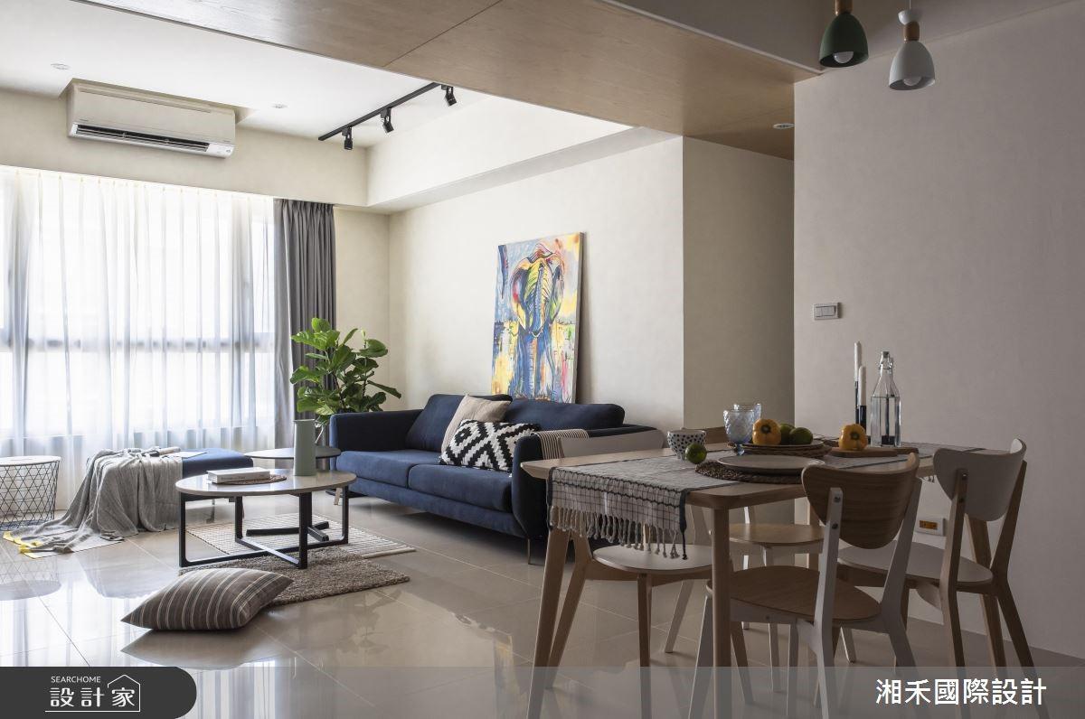 25坪新成屋(5年以下)_簡約風餐廳案例圖片_湘禾國際設計_湘禾_12之4