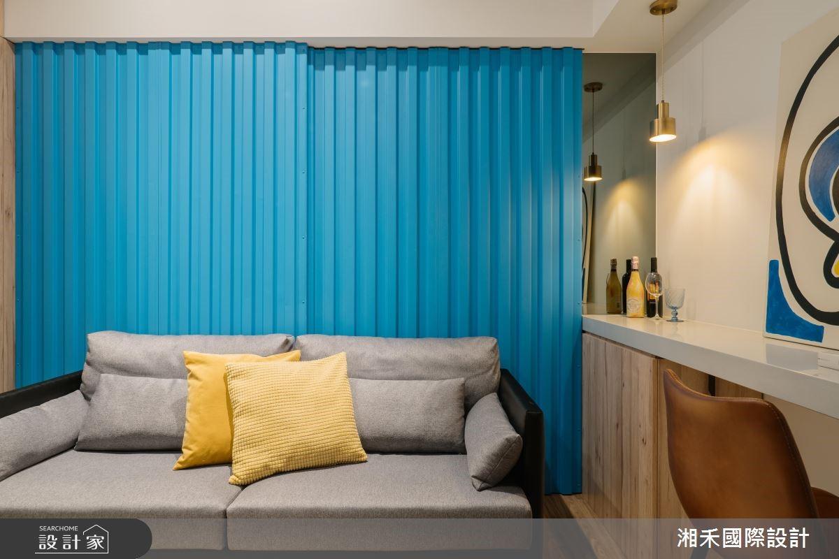 18坪新成屋(5年以下)_混搭風客廳案例圖片_湘禾國際設計_湘禾_14之2