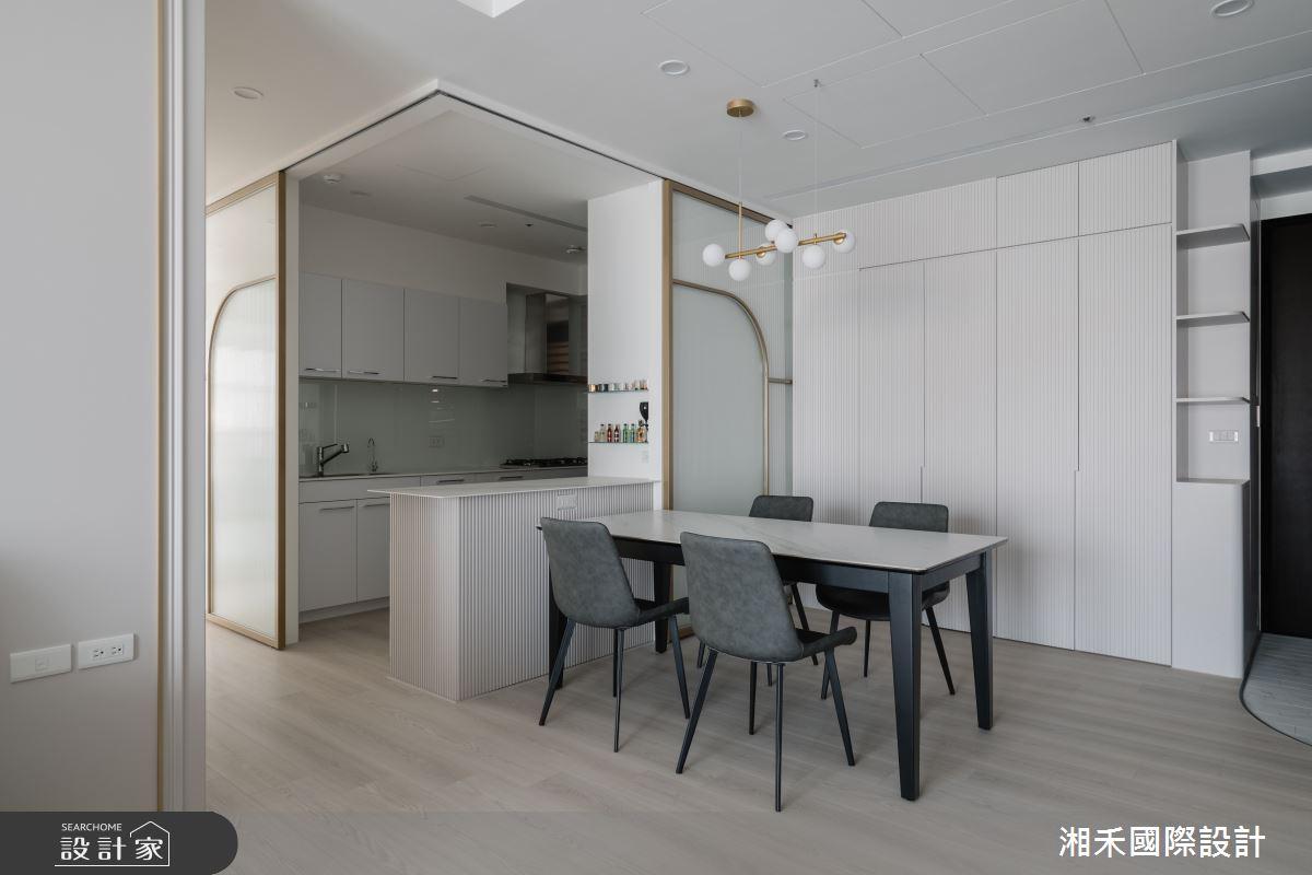 45坪新成屋(5年以下)_混搭風餐廳案例圖片_湘禾國際設計_湘禾_19之4