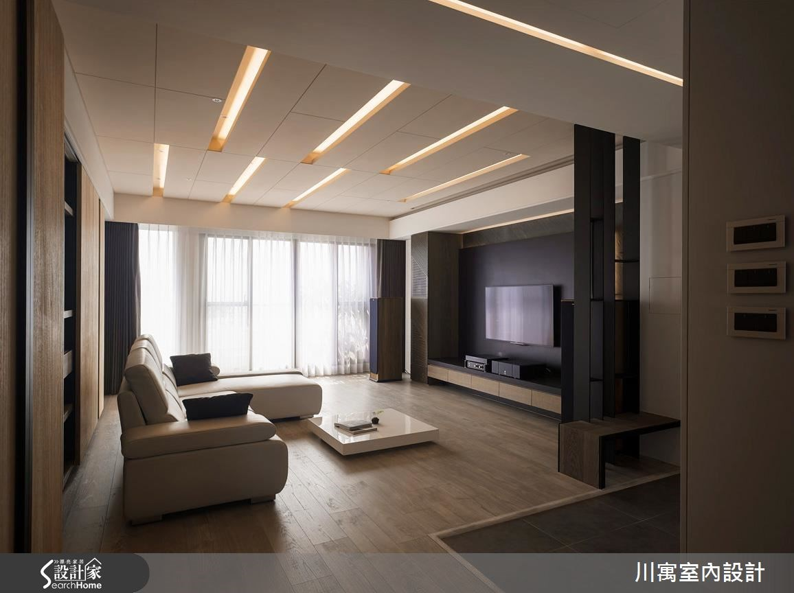 50坪中古屋(5~15年)_現代風案例圖片_川寓室內裝修設計工程有限公司_川寓_02之1