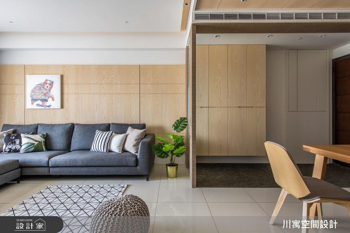 20坪新成屋(5年以下)_現代風案例圖片_川寓室內裝修設計工程有限公司_川寓_08之3