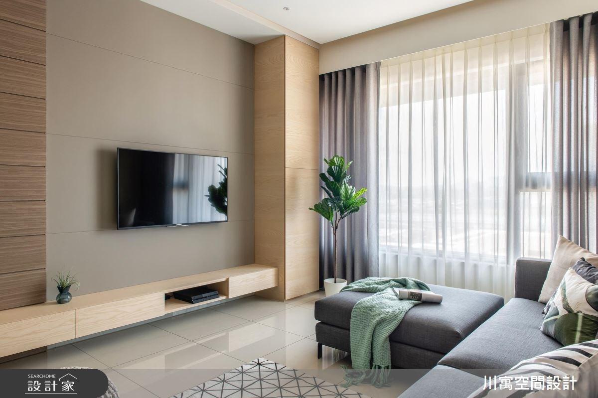 20坪新成屋(5年以下)_現代風案例圖片_川寓室內裝修設計工程有限公司_川寓_08之4