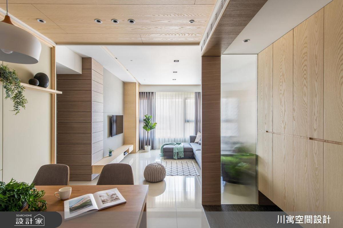 20坪新成屋(5年以下)_現代風案例圖片_川寓室內裝修設計工程有限公司_川寓_08之5