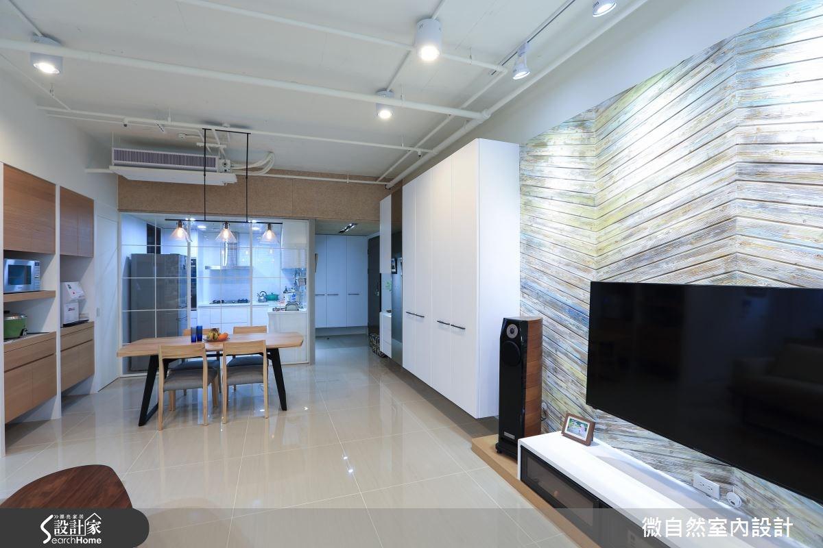 43坪新成屋(5年以下)_北歐風案例圖片_微自然室內裝修設計有限公司_微自然_04之4