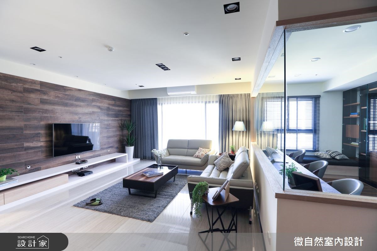 51坪新成屋(5年以下)_現代風案例圖片_微自然室內裝修設計有限公司_微自然_07之2