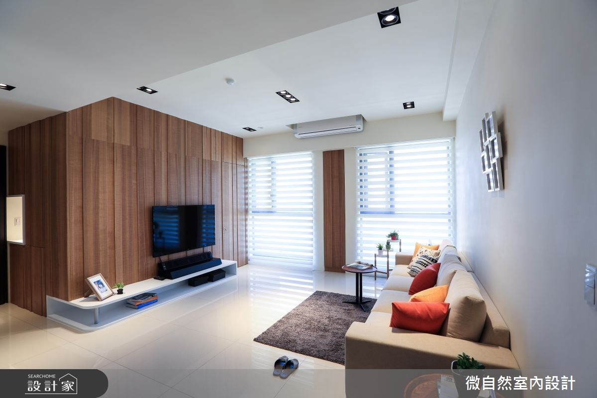 32坪新成屋(5年以下)_北歐風案例圖片_微自然室內裝修設計有限公司_微自然_10之2