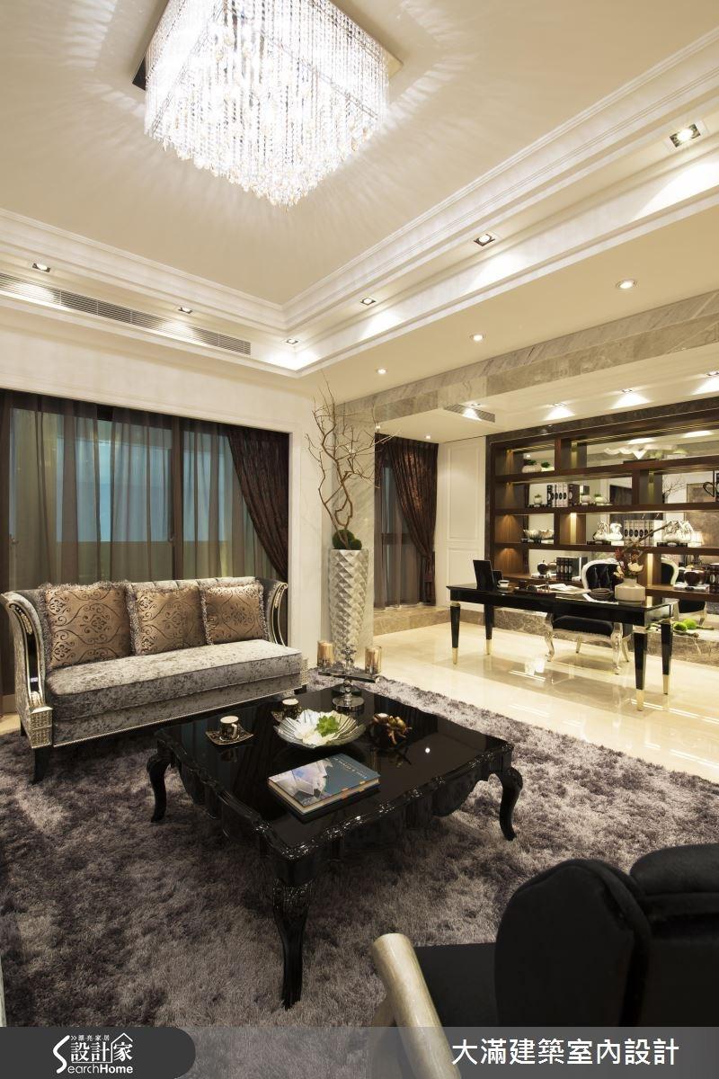 86坪新成屋(5年以下)_新古典案例圖片_大滿建築室內設計_大滿_01之4