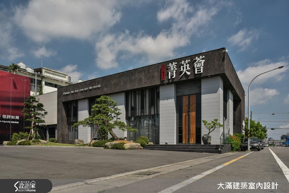 100坪_現代風案例圖片_大滿建築室內設計_大滿_07之1