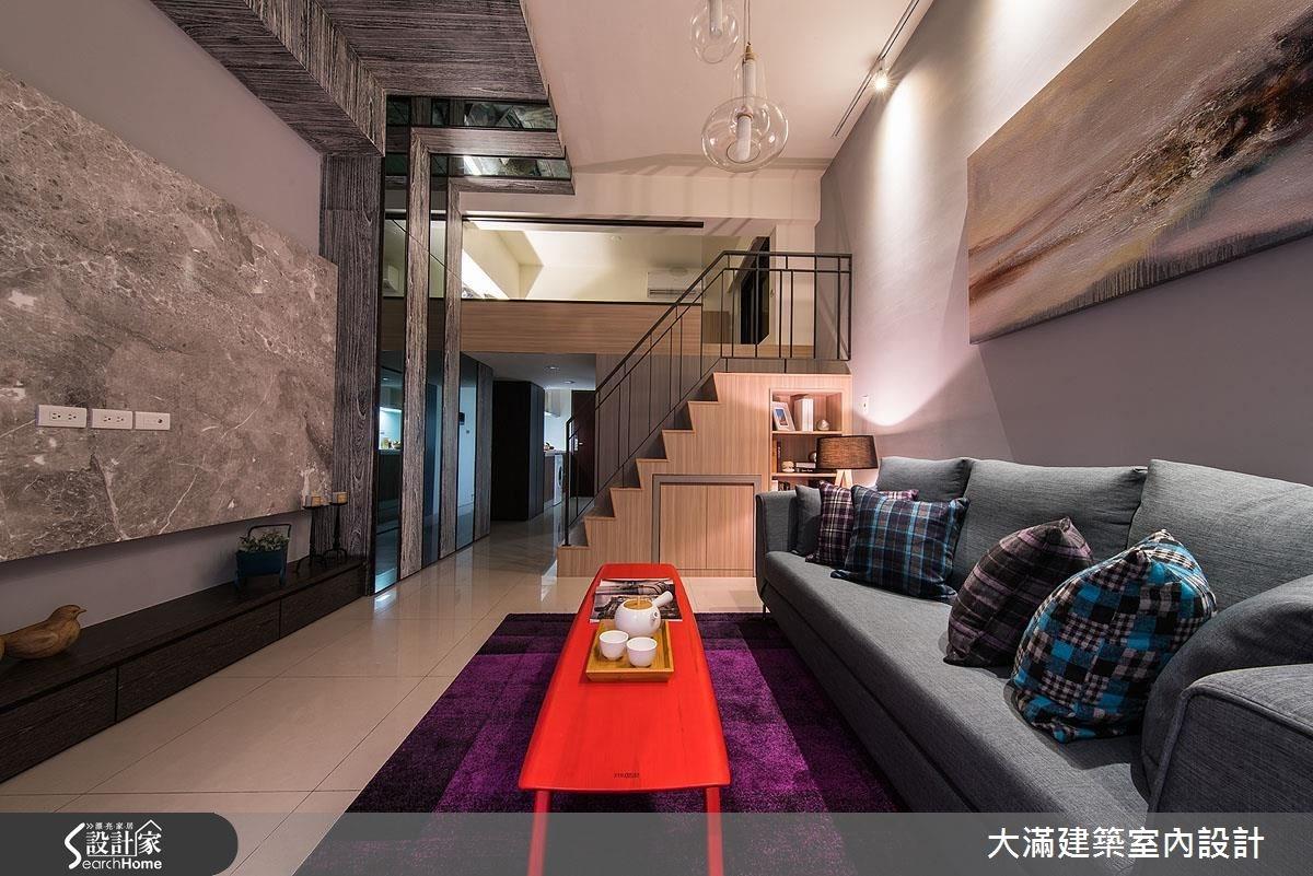 16坪新成屋(5年以下)_現代風案例圖片_大滿建築室內設計_大滿_09之1