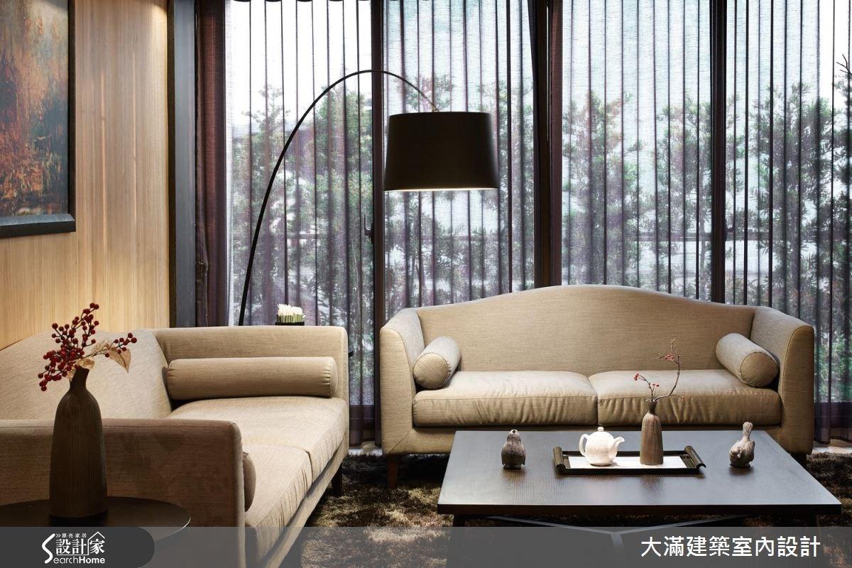 70坪新成屋(5年以下)_新中式風案例圖片_大滿建築室內設計_大滿_10之2