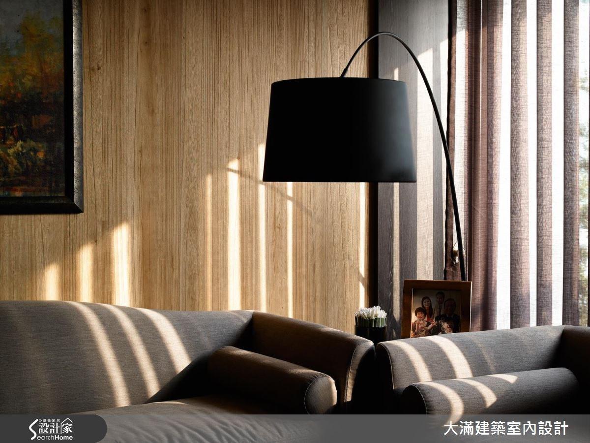 70坪新成屋(5年以下)_新中式風案例圖片_大滿建築室內設計_大滿_10之3