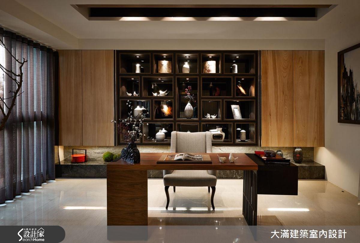 70坪新成屋(5年以下)_新中式風案例圖片_大滿建築室內設計_大滿_10之4