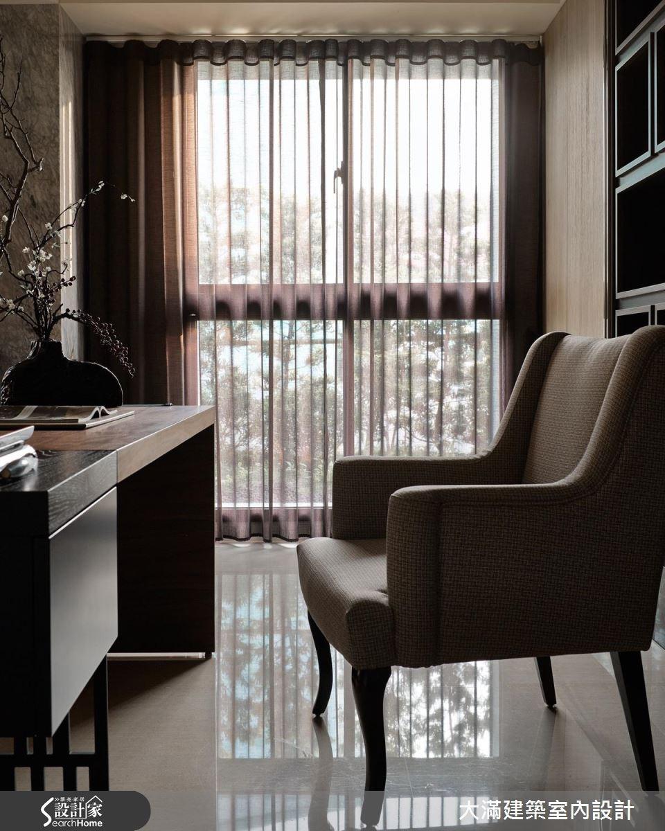 70坪新成屋(5年以下)_新中式風案例圖片_大滿建築室內設計_大滿_10之6