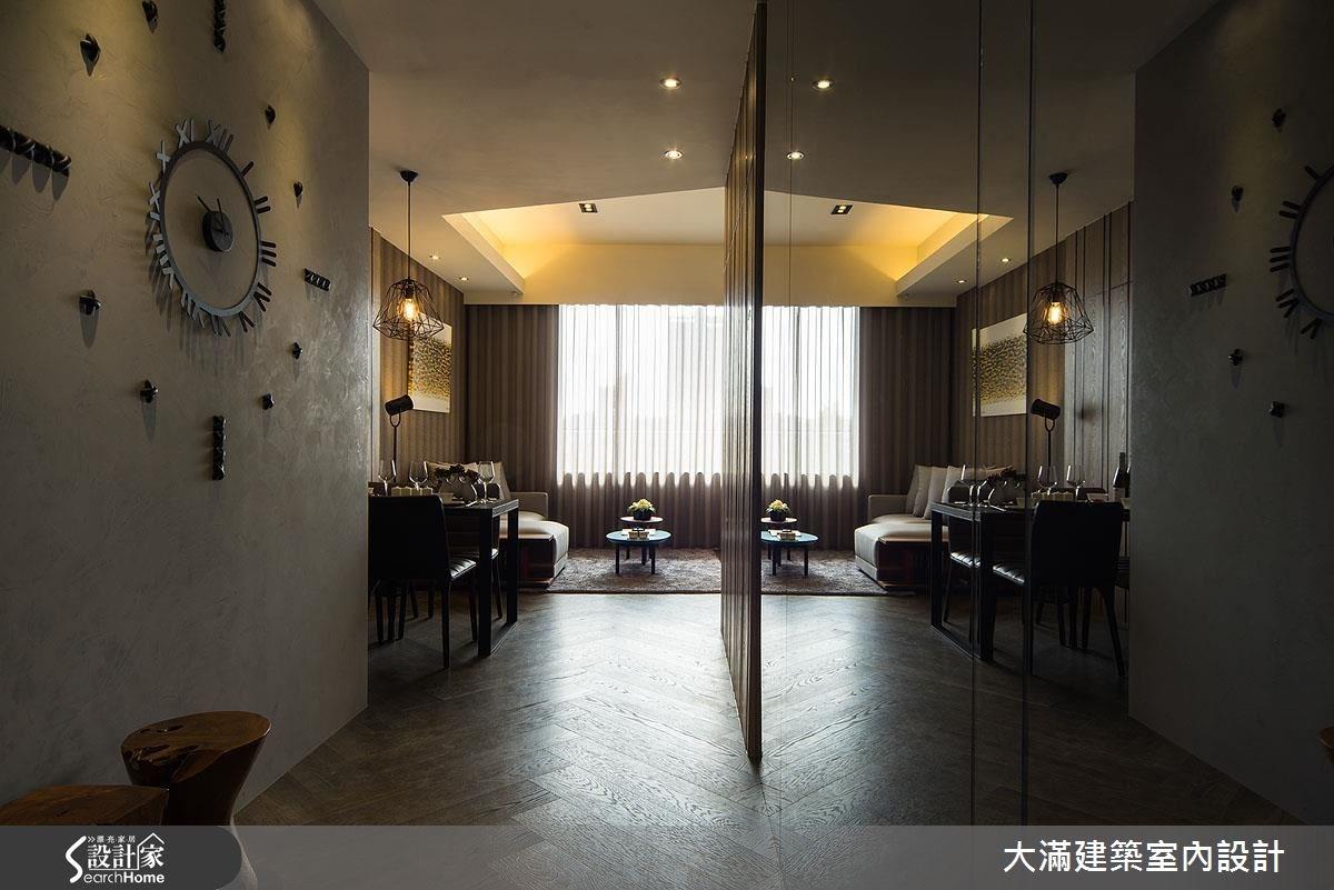 26坪新成屋(5年以下)_現代風案例圖片_大滿建築室內設計_大滿_11之1