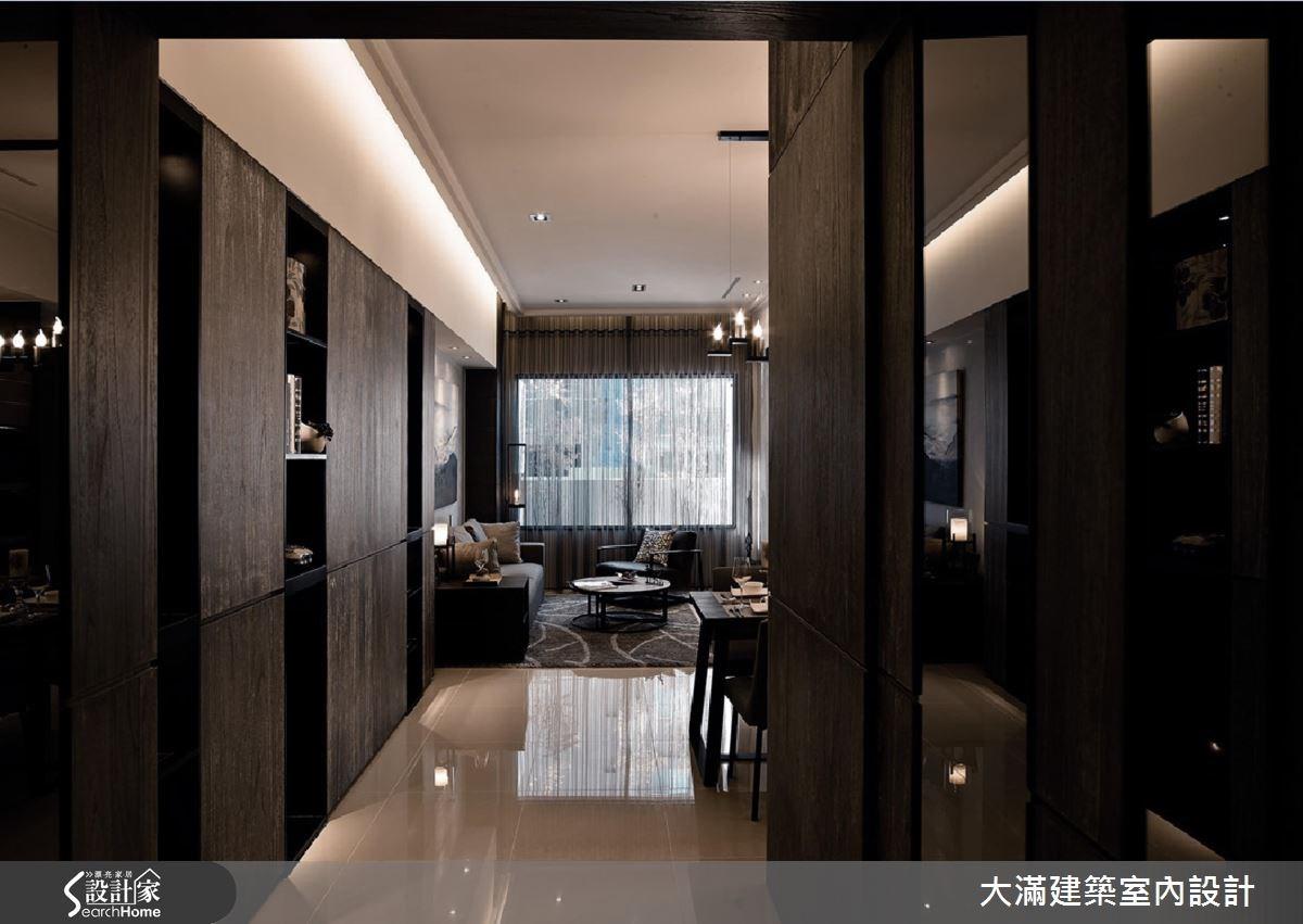 34坪新成屋(5年以下)_現代風案例圖片_大滿建築室內設計_大滿_12之1