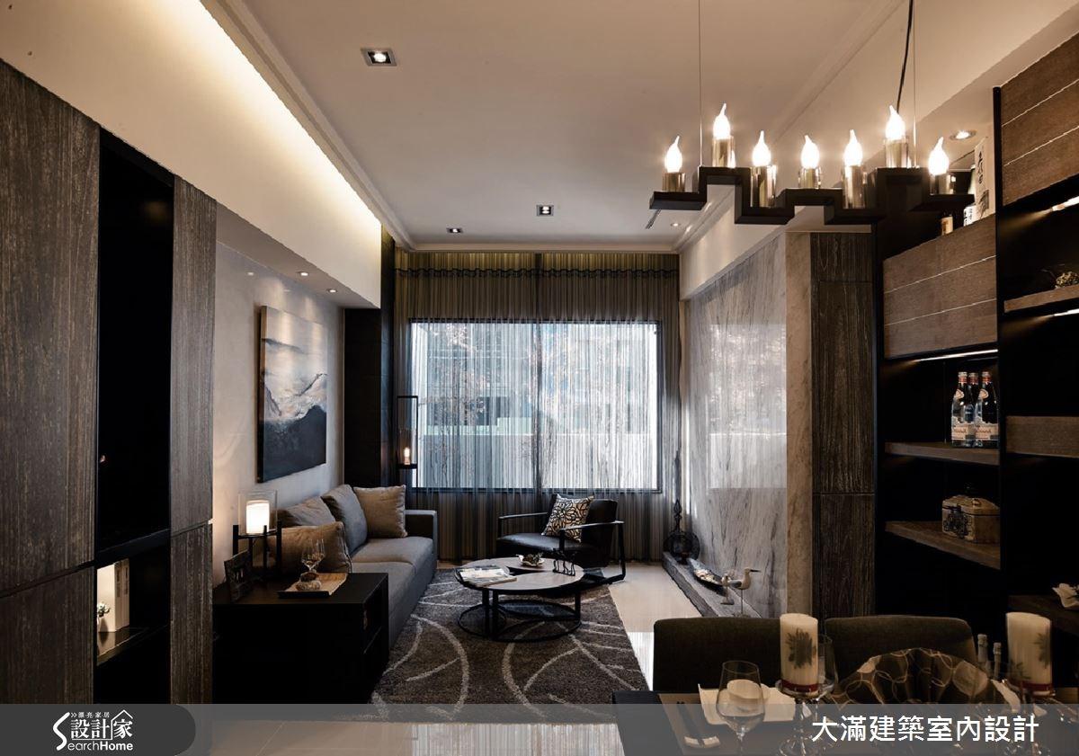 34坪新成屋(5年以下)_現代風案例圖片_大滿建築室內設計_大滿_12之2