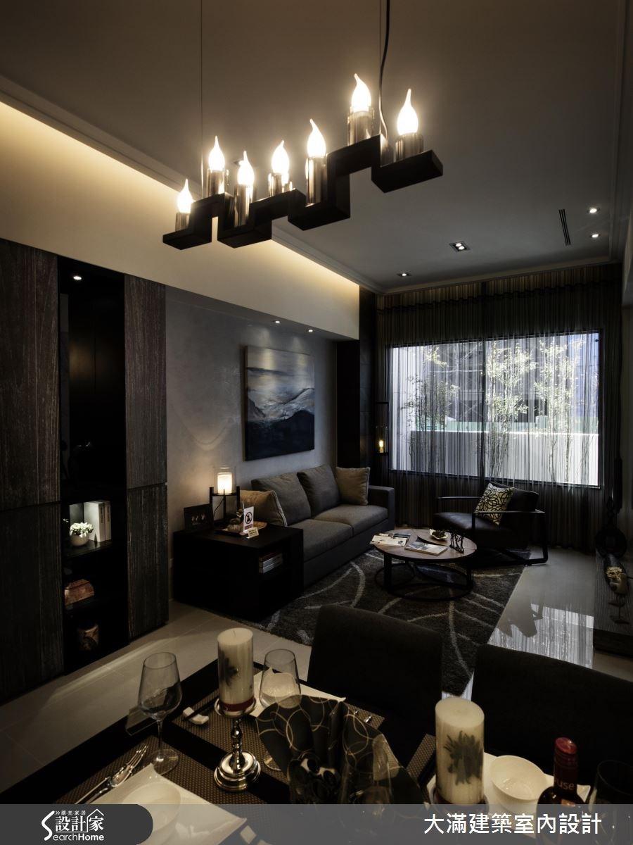 34坪新成屋(5年以下)_現代風案例圖片_大滿建築室內設計_大滿_12之3
