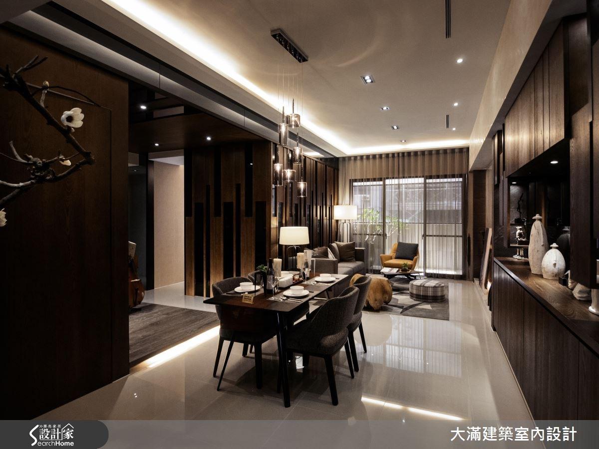 35坪新成屋(5年以下)_現代風案例圖片_大滿建築室內設計_大滿_13之1