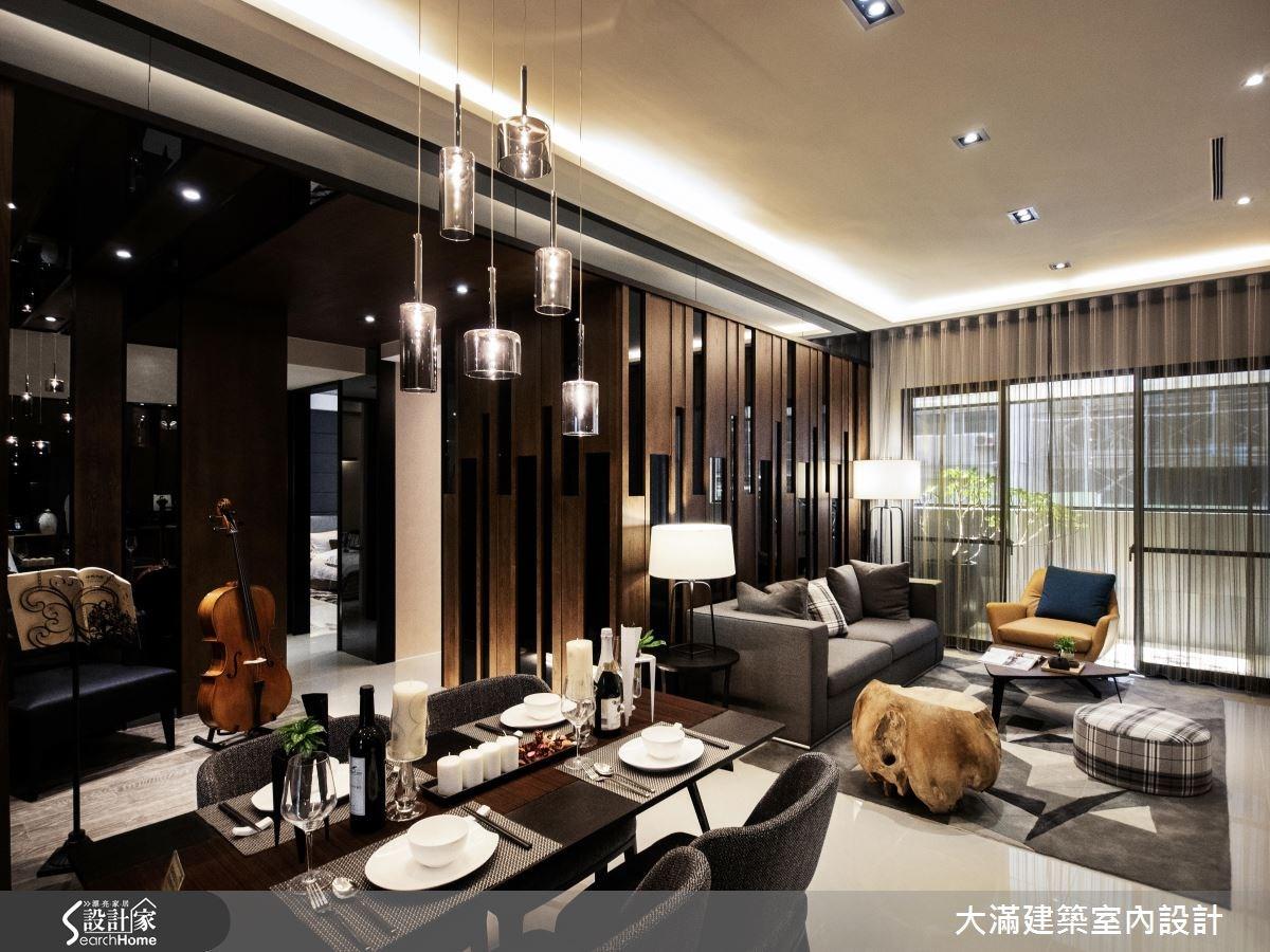 35坪新成屋(5年以下)_現代風案例圖片_大滿建築室內設計_大滿_13之3