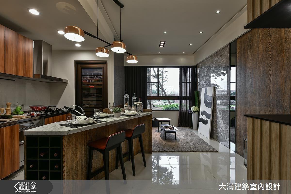 30坪新成屋(5年以下)_現代風案例圖片_大滿建築室內設計_大滿_14之1