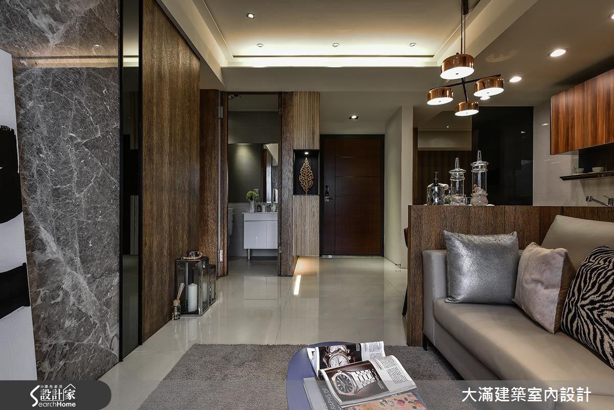 30坪新成屋(5年以下)_現代風案例圖片_大滿建築室內設計_大滿_14之3