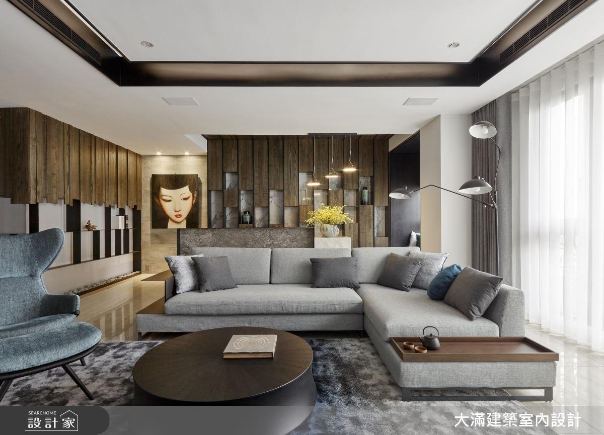 120坪新成屋(5年以下)_混搭風案例圖片_大滿建築室內設計_大滿_15之6
