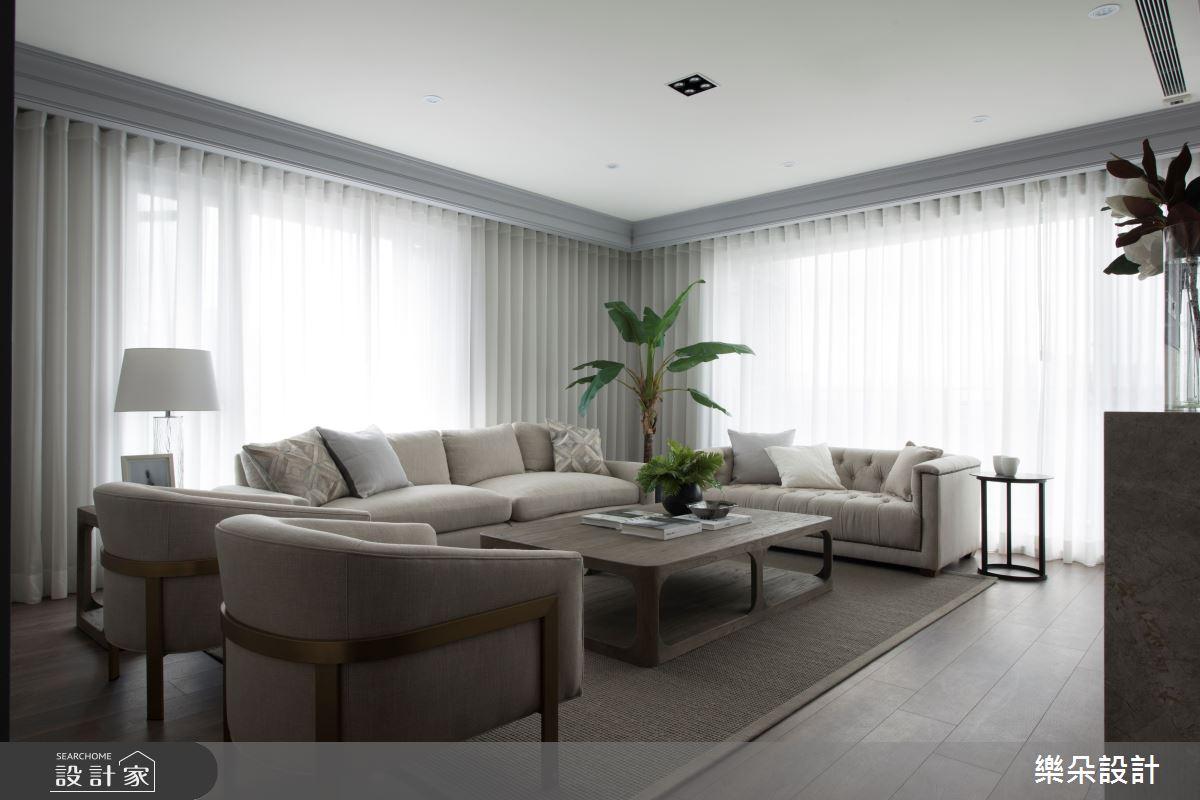 70坪新成屋(5年以下)_新古典案例圖片_樂朵室內設計_樂朵_01之2