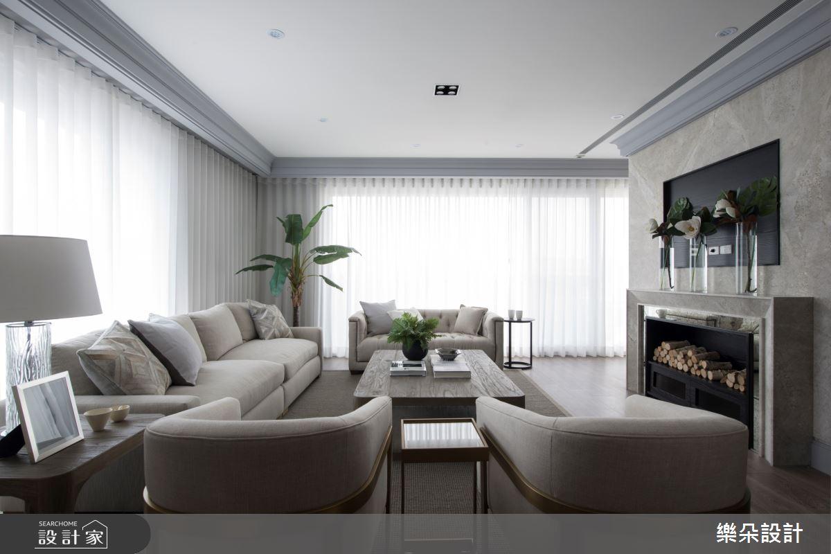 70坪新成屋(5年以下)_新古典案例圖片_樂朵室內設計_樂朵_01之3