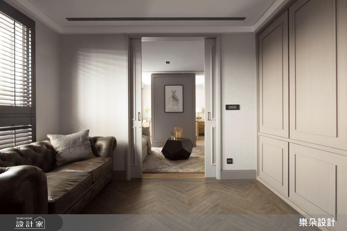 70坪新成屋(5年以下)_新古典案例圖片_樂朵室內設計_樂朵_01之4