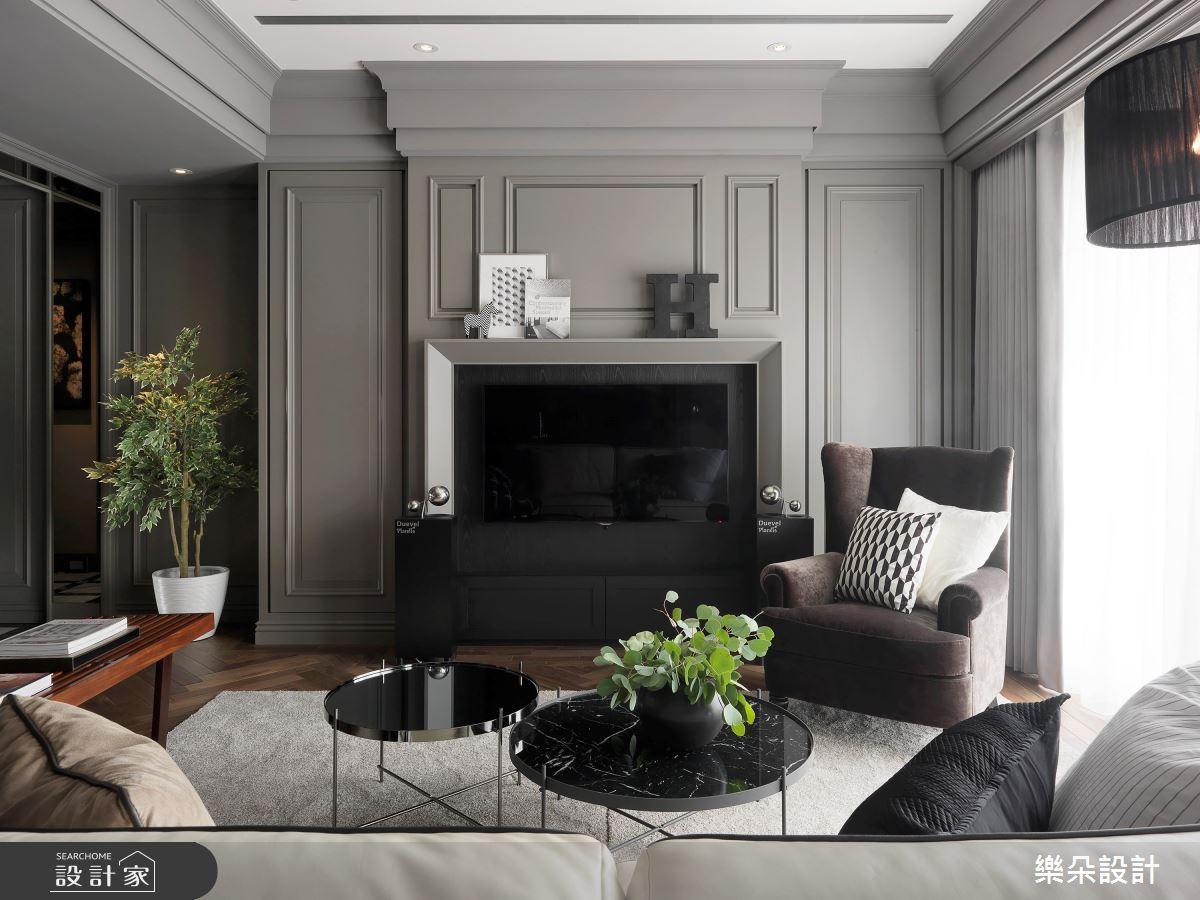 40坪新成屋(5年以下)_新古典案例圖片_樂朵室內設計_樂朵_02之4