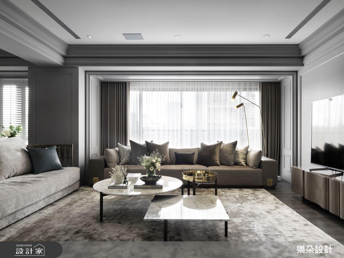 51坪新成屋(5年以下)_新古典案例圖片_樂朵室內設計_樂朵_07之2