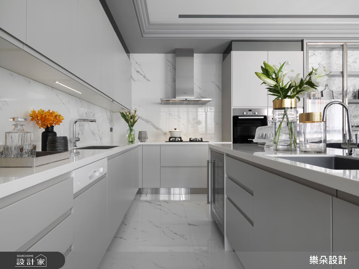 36坪新成屋(5年以下)_新古典案例圖片_樂朵室內設計_樂朵_08之10