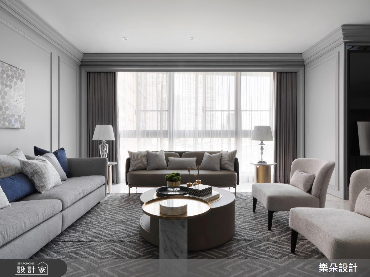 36坪新成屋(5年以下)_新古典案例圖片_樂朵室內設計_樂朵_08之3