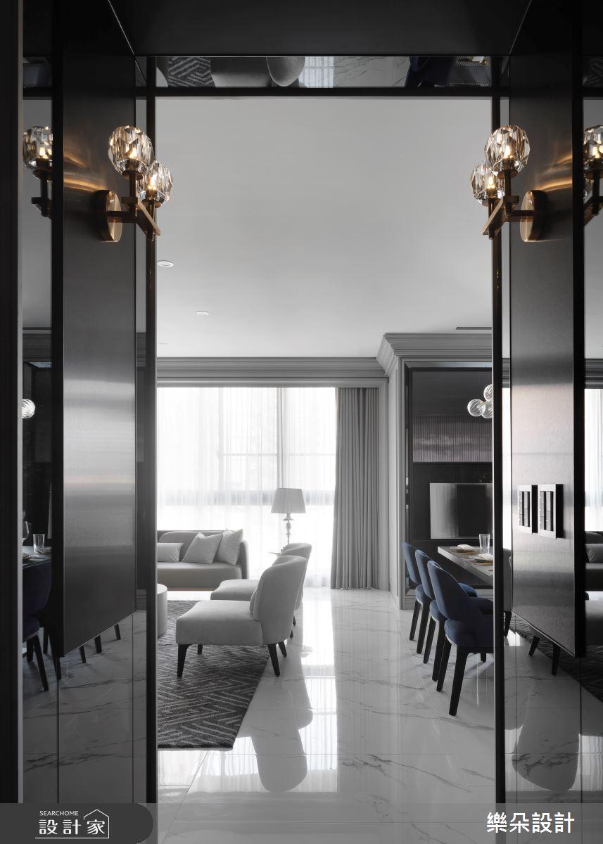36坪新成屋(5年以下)_新古典案例圖片_樂朵室內設計_樂朵_08之1
