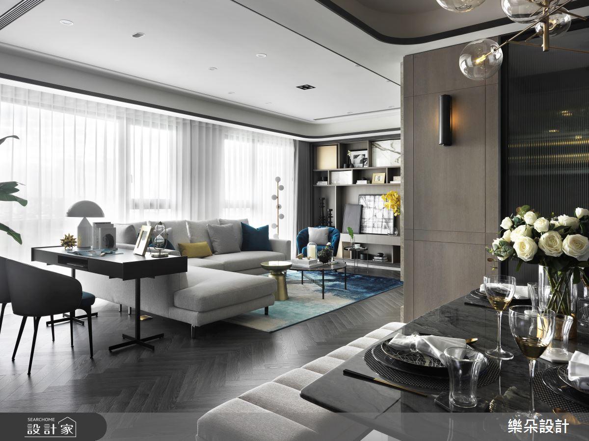 35坪新成屋(5年以下)_現代風案例圖片_樂朵室內設計_樂朵_10之1