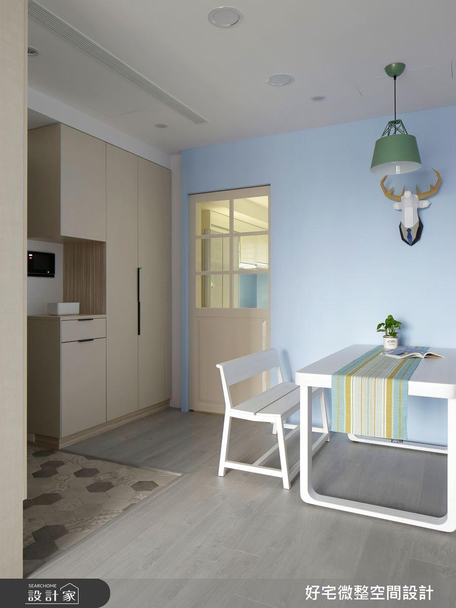 25坪新成屋(5年以下)_北歐風餐廳案例圖片_好宅微整空間設計_好宅_26之3